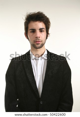 portrait of young businessman #50422600