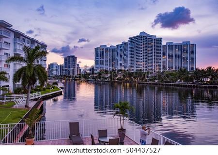 Sunset in Florida #504437527