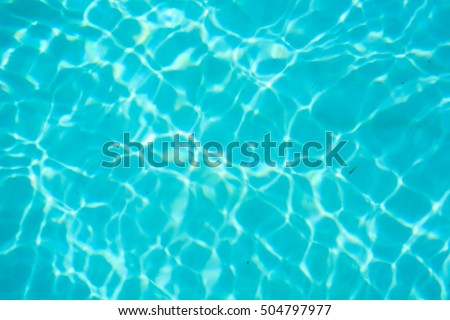 Water background abstract #504797977