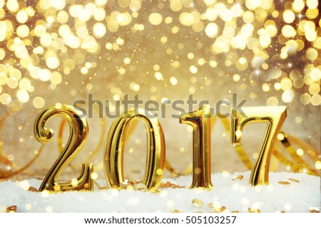 New Year Celebration, christmas tree background with bokeh. #505103257
