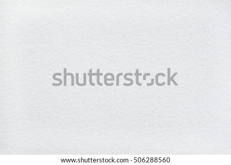 Snow white felt background with frost-liked texture #506288560