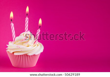 Birthday cupcake #50629189