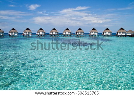Over Water Bungalows, Maldives #506515705