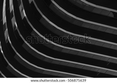 Black and white study of patterns and lines  #506875639