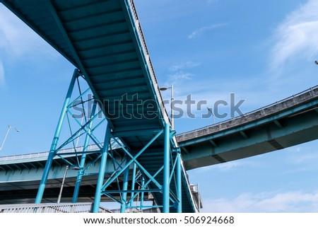 Highway overpass #506924668