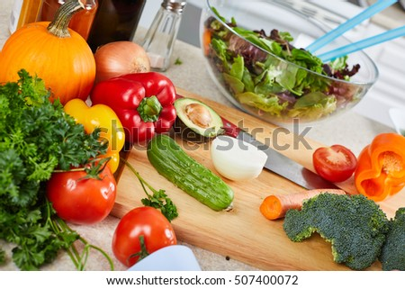 Vegetables in the kitchen. #507400072