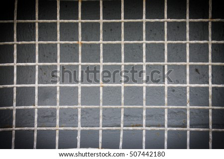 Steel fence for texture and background #507442180