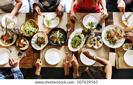 Restaurant Chilling Out Classy Lifestyle Reserved Concept Royalty-Free Stock Photo #507639565