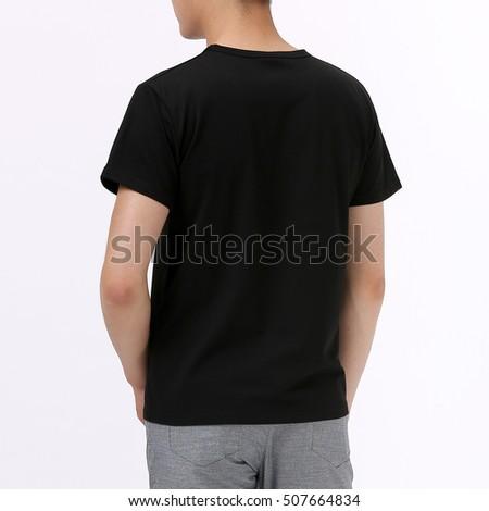Black T-shirt #507664834