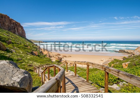 Robberg, Garden Route in South Africa Royalty-Free Stock Photo #508332541