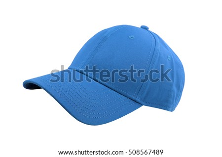 Colorful fashion cap isolated on white background. #508567489