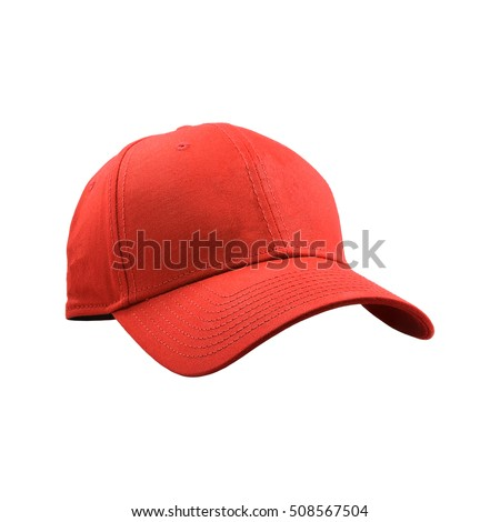 Colorful fashion cap isolated on white background. #508567504