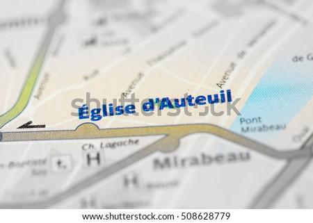 Eglise d'Auteuil Station. 10th Line. Paris. France #508628779