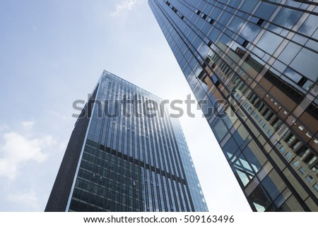 To shoot the modern urban architecture #509163496