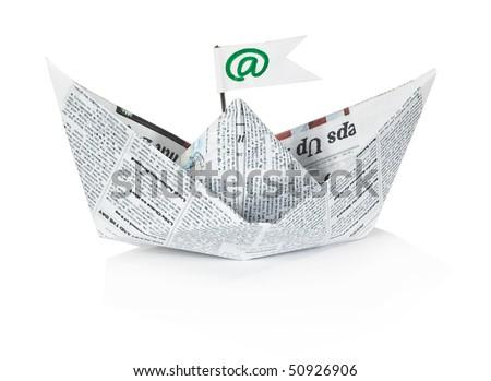 Paper ship
