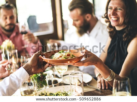 Restaurant Chilling Out Classy Lifestyle Reserved Concept #509652886