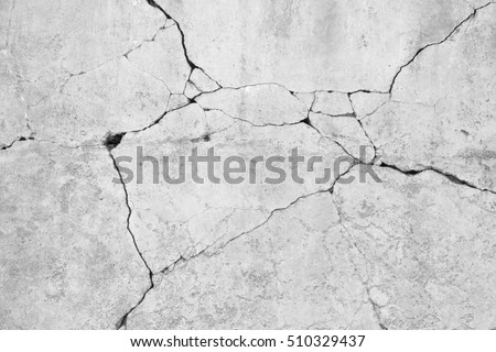 crack concrete wall background Royalty-Free Stock Photo #510329437