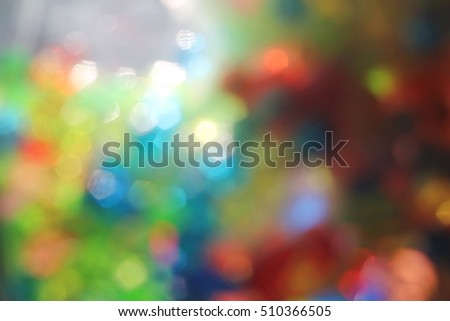 Bokeh lights - abstract background