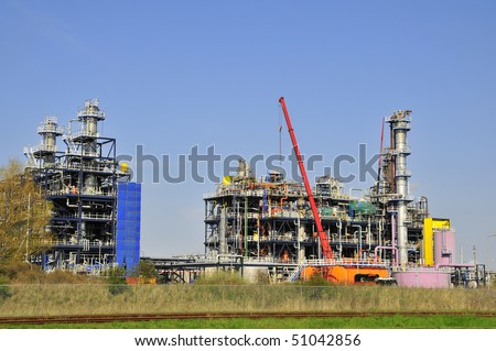 chemical plant construction #51042856