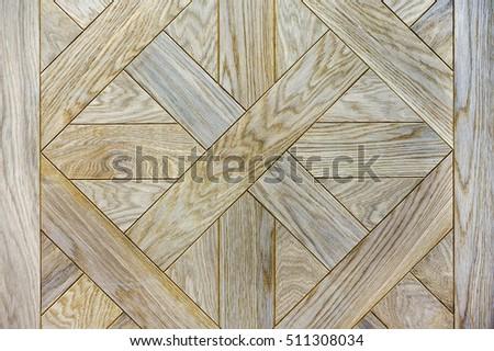 Oak grey, tree structure, parquet board, texture, pattern, background. Mosaics  pattern of wooden planks #511308034