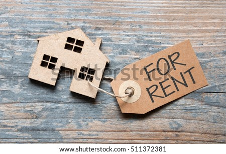 House for rent label Royalty-Free Stock Photo #511372381