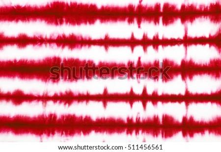 red stripe tie dye pattern background.  #511456561