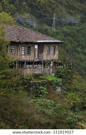 A village house in Artvin. #511819027