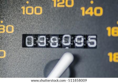 Odometer Royalty-Free Stock Photo #511858009