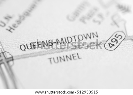 Queens Midtown Tunnel. New York. USA #512930515