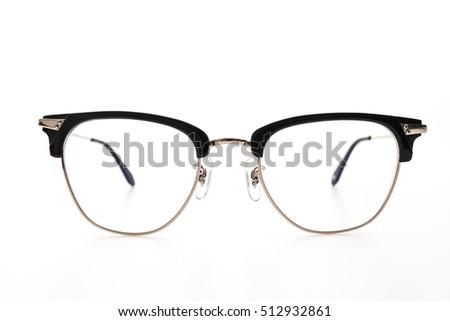 Eyeglasses wear isolated on white background #512932861