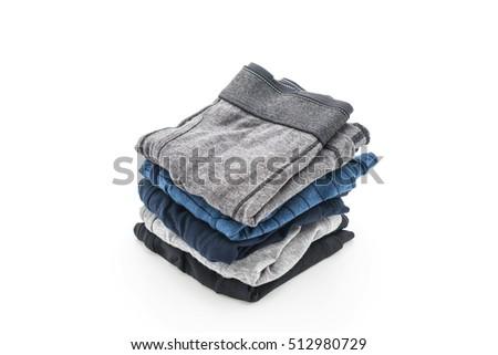 men underwear isolated on white background #512980729