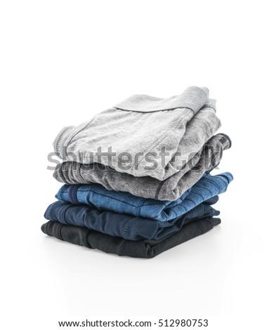 men underwear isolated on white background #512980753