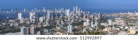 View of Cartagena de Indias, Colombia #512992897