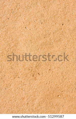 Background texture, photo of baseball turf orange color soil