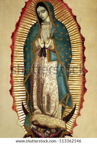 our lady of Guadalupe #513362146