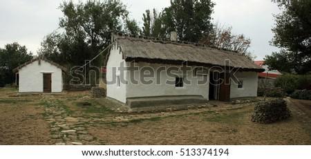 Old rural farmhouse #513374194