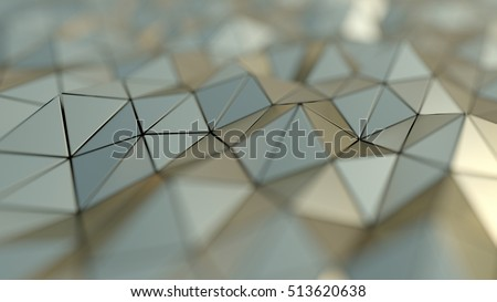 Sci-fi Gold texture. Abstract Background
