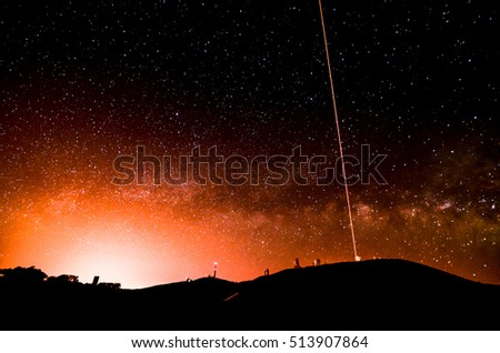 Night Sky Picture Darkness Planets and Stars #513907864