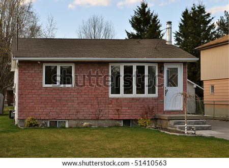 Simple small house #51410563