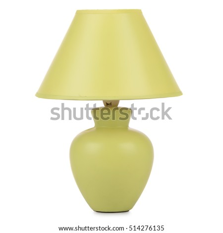 table lamp isolated #514276135
