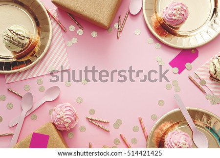 image of  birthday party supplies