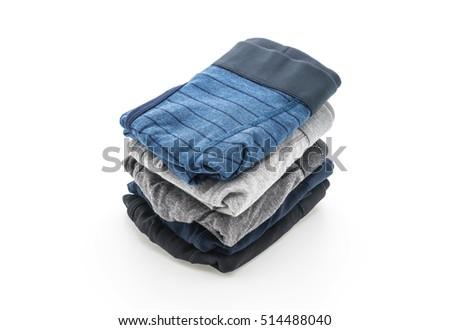 men underwear isolated on white background #514488040
