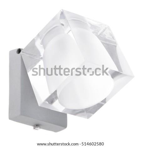 sconce isolated on white background #514602580