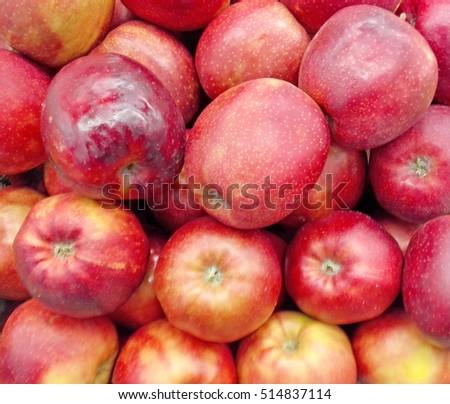 fresh apples background #514837114