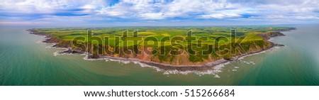 cliffs and fields  #515266684