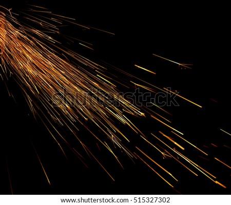 Bulgarian spark on black background #515327302