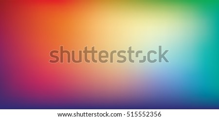 Blurred bright colors mesh background. Colorful rainbow gradient. Smooth blend banner template. Easy editable soft colored vector illustration in EPS8 without transparency. Royalty-Free Stock Photo #515552356