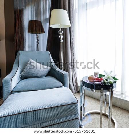 Hotel room or bedroom Interior. hotel concept. #515751601