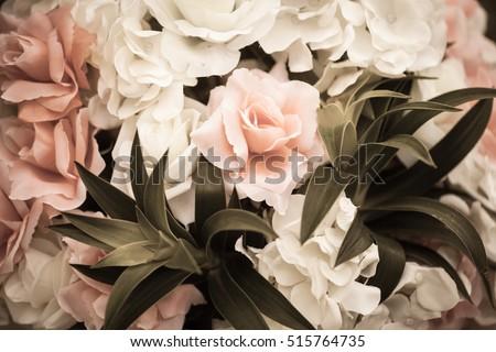 Vintage flower background, pastel flower background, vintage texture