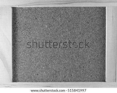 Black and white cork board cover background. #515841997